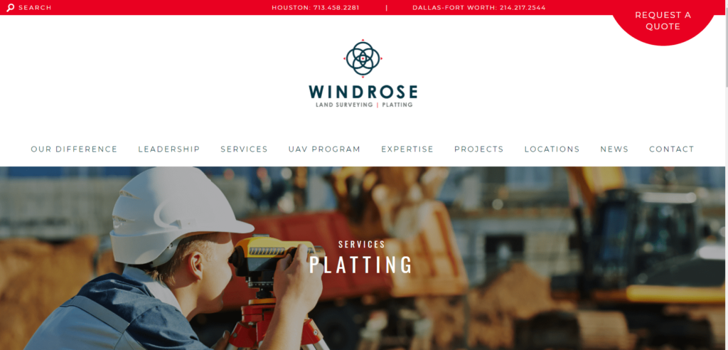Windrose platting
