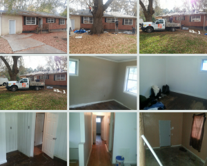 Glenco Drive property - before photos