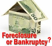 Bankruptcy vs. Foreclosure....is it ever a good option?