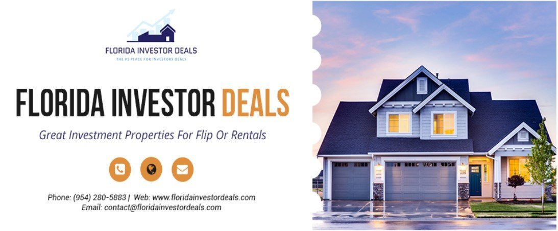 THE #1 PLACE FOR INVESTORS DEALS logo