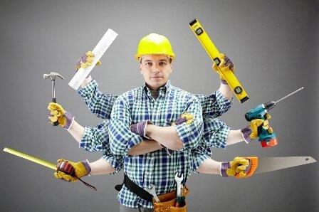 edmonton handyman repairing a home