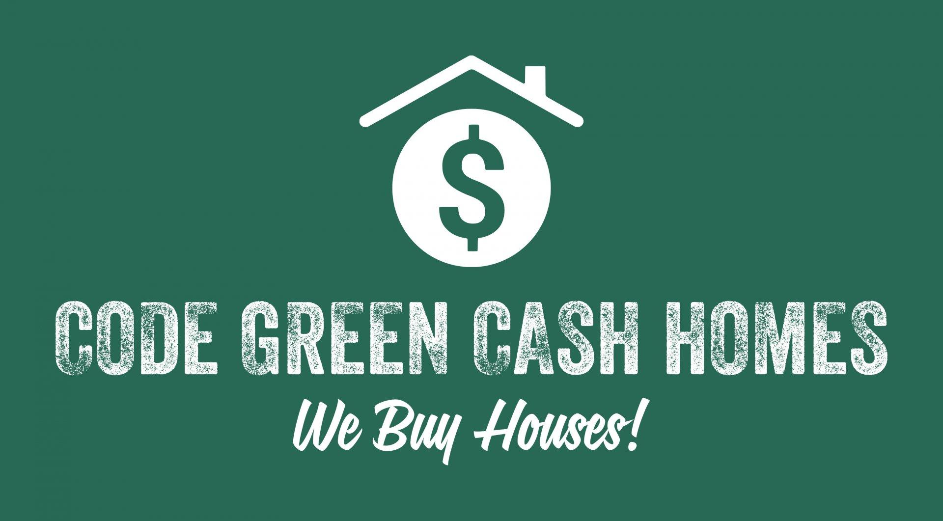 Code Green Cash Homes  logo