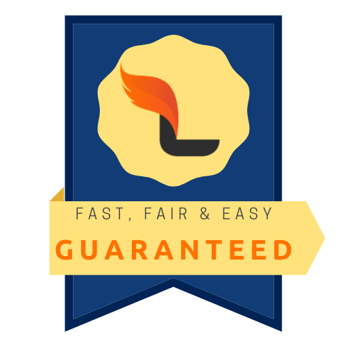 fast fair and easy guaranteed