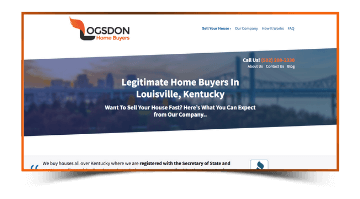 Legitimate Home Buyers Page