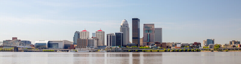 The City of Louisville, in the state of Kentucky