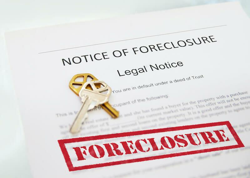 foreclosure notice in Louisville