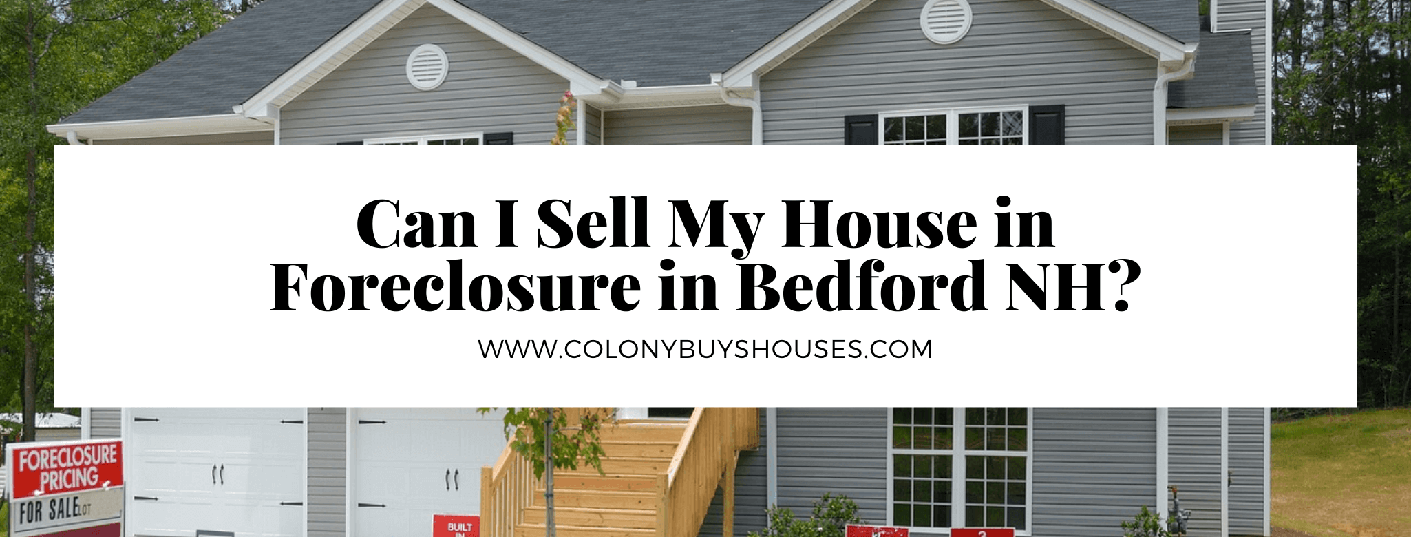 cash for homes in Bedford NH