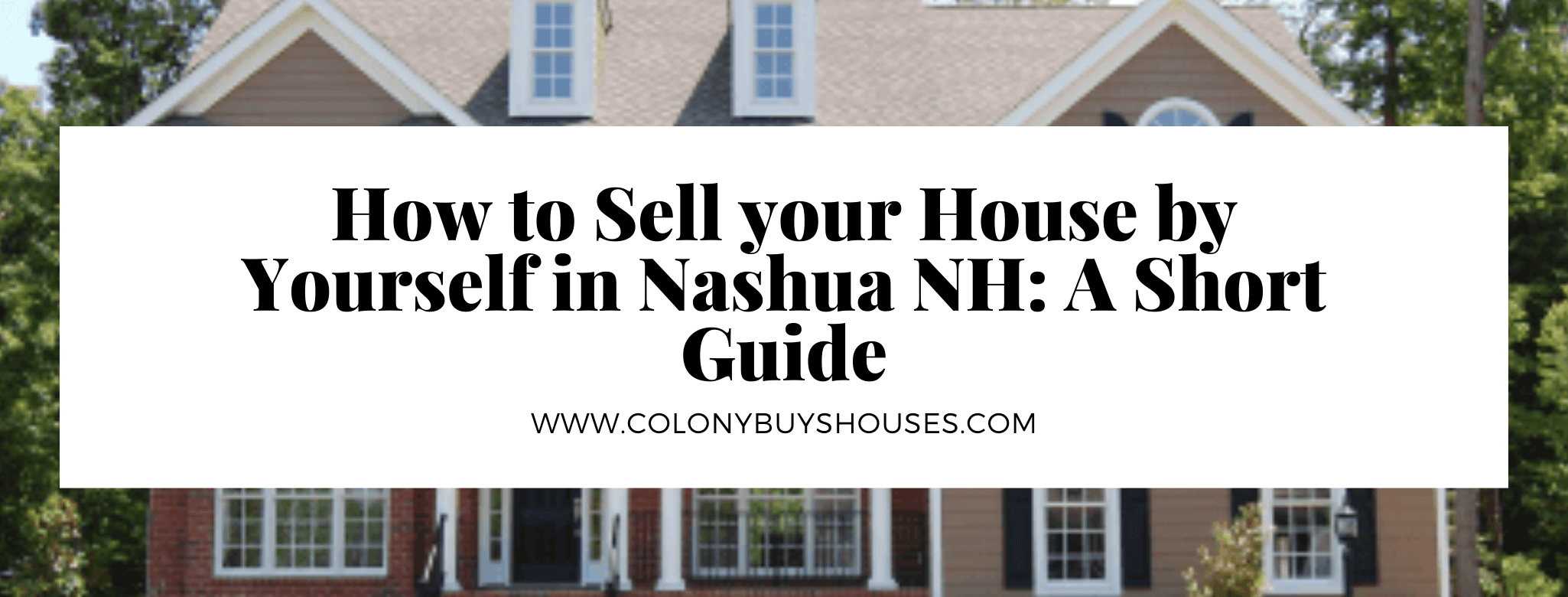 sell your home in Nashua NH