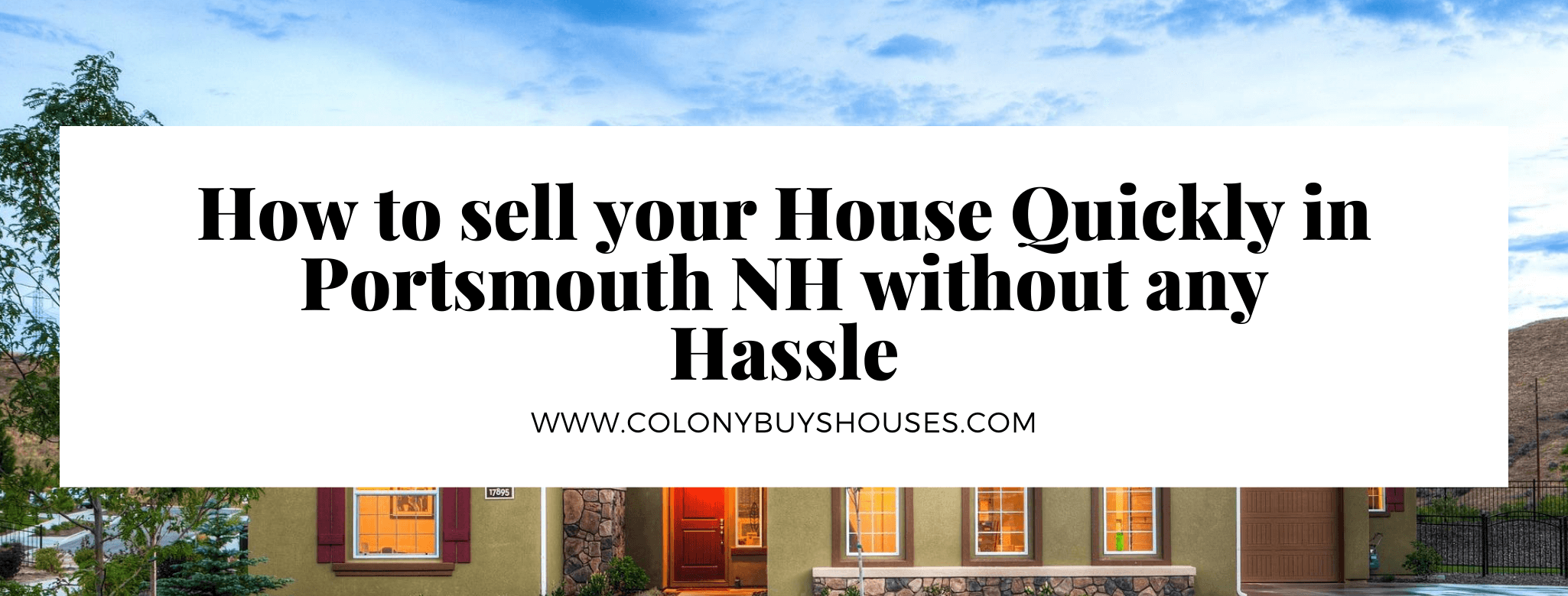 Portsmouth NH house buyers