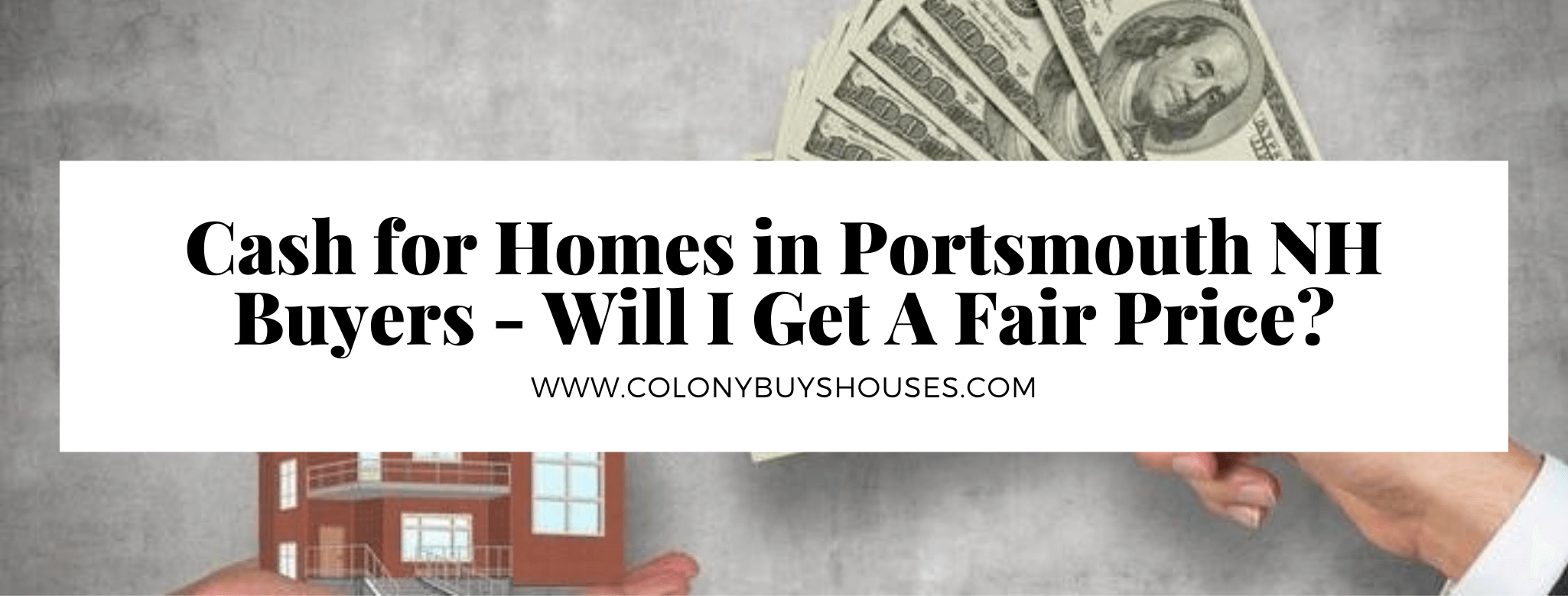 We buy your properties in Portsmouth NH