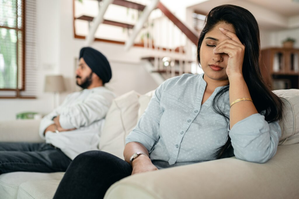 couple going through divorce and thinking of selling the house