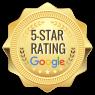 Google 5 Star Seal