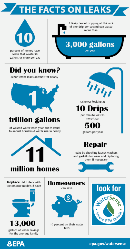 some facts on leaks in America