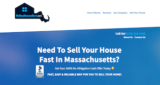 We Buy Houses Here Home Page