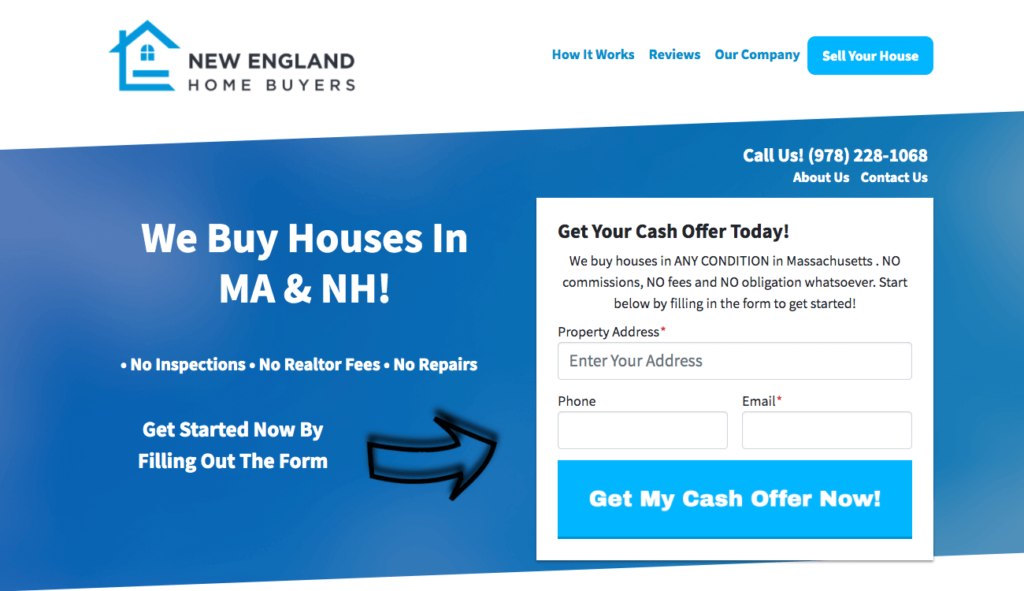 selling a house as is in boston