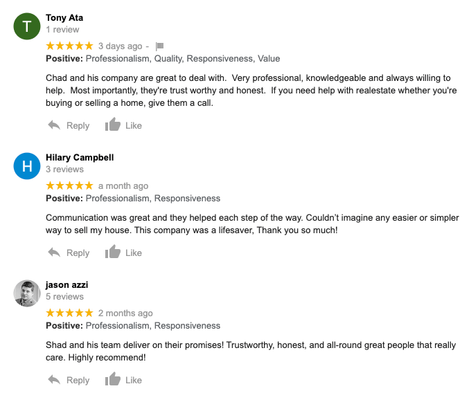 we buy houses nh reviews