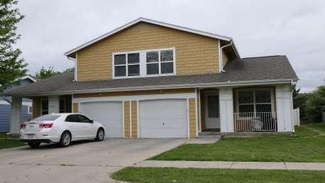 Omaha Nebraska Orange Duplex Investment