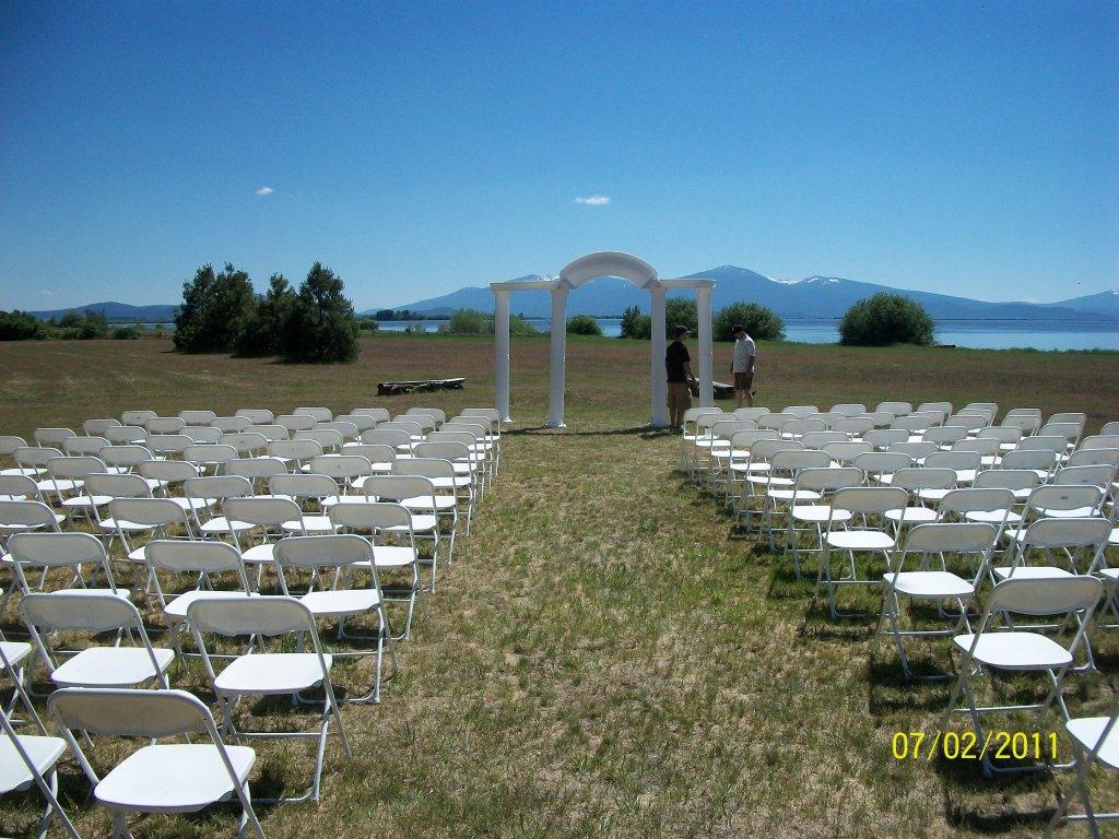 klamath lake wedding