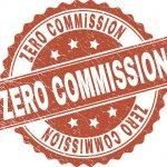 zero commissions