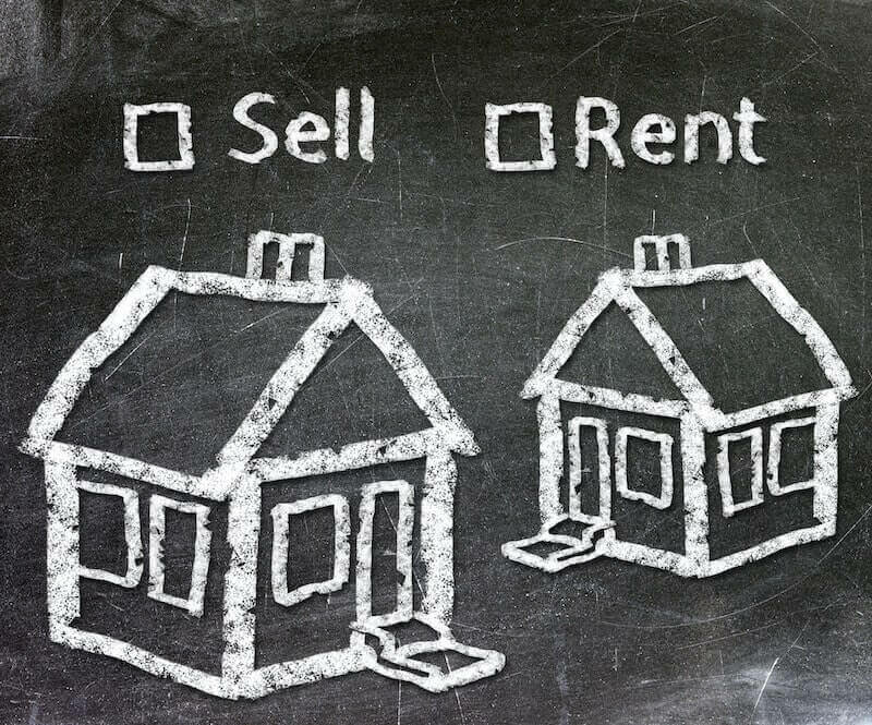 Sell or Rent house on blackboard
