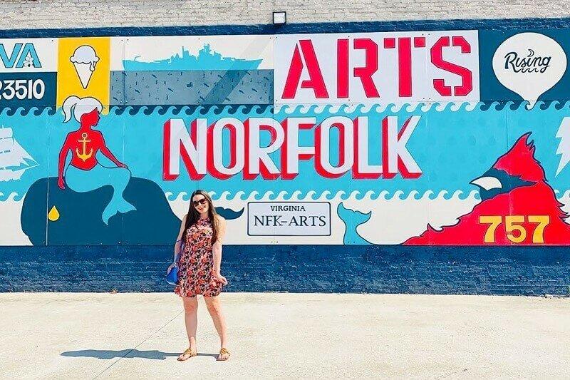 See Outdoor public Art in Norfolk VA