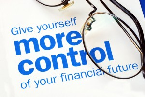 taking control of your financial future by investing money