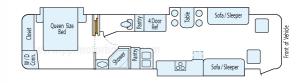 Floor Plan of RV