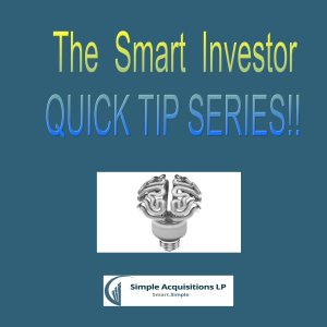 Smart Investor real estate tips