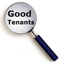 find good tenants for rental profit