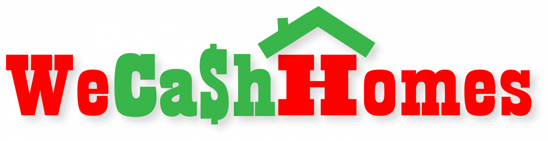 WE CASH HOMES… logo