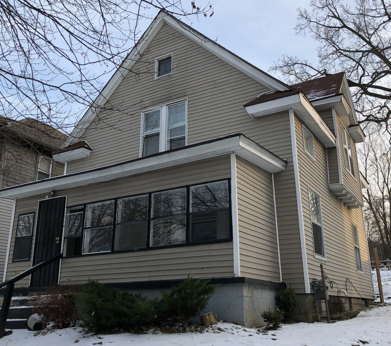 Grand Rapids Rental House in the Winter