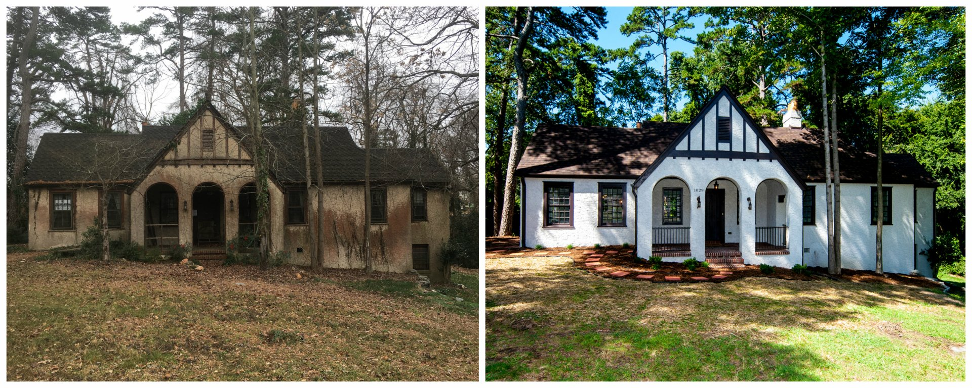 We Buy Ugly Houses - Before and After of an Ugly House