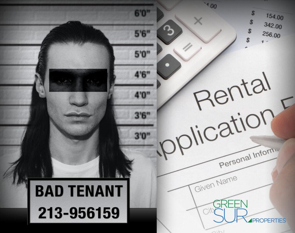 Bad tenant photo. Mug shot. Rental application.