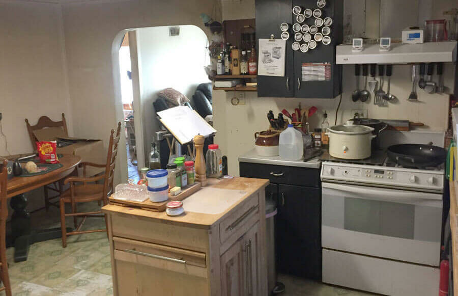 Kitchen in Need of Updates