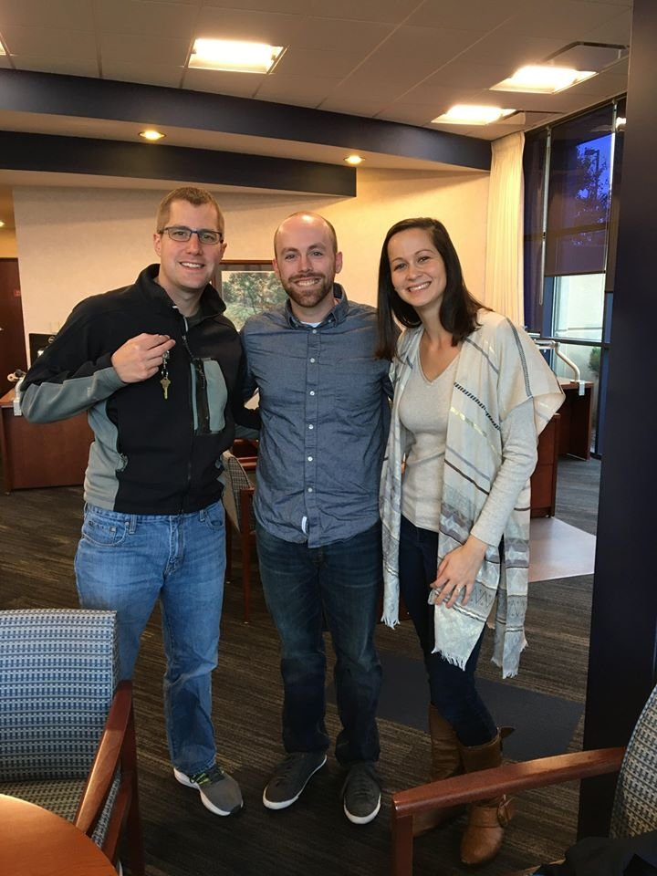 We helped Matt and Sarah buy their first home in Olathe KS