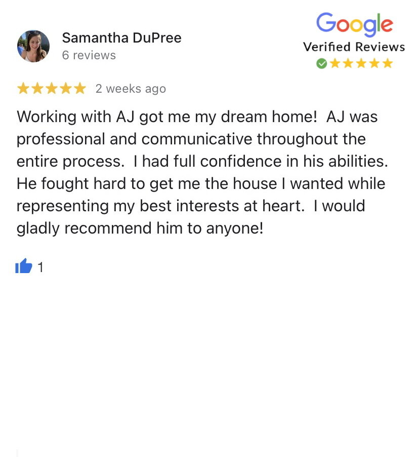 Samantha bought her dream home in Lenexa with the help of our top KC real estate agents!