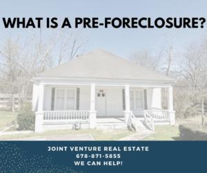 Avoid Pre-Foreclosure in Georgia