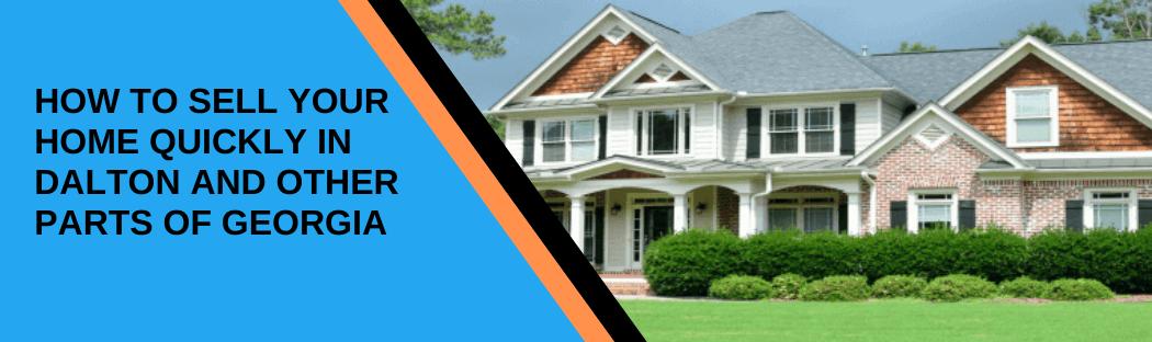 Sell your home in Dalton GA