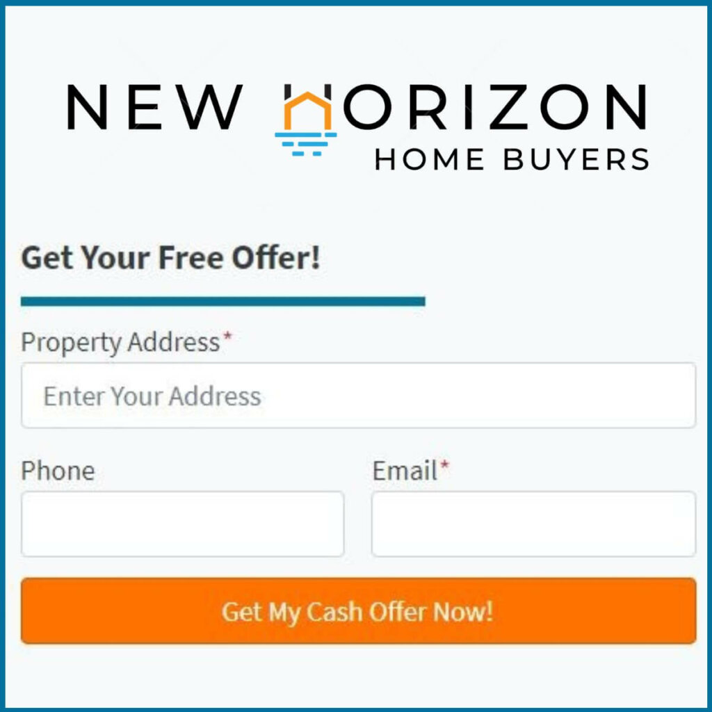 Sell Your House Fast & Easy With A Cash Offer From New Horizon