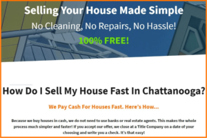 Sell Your Chattanooga TN House Fast For Cash
