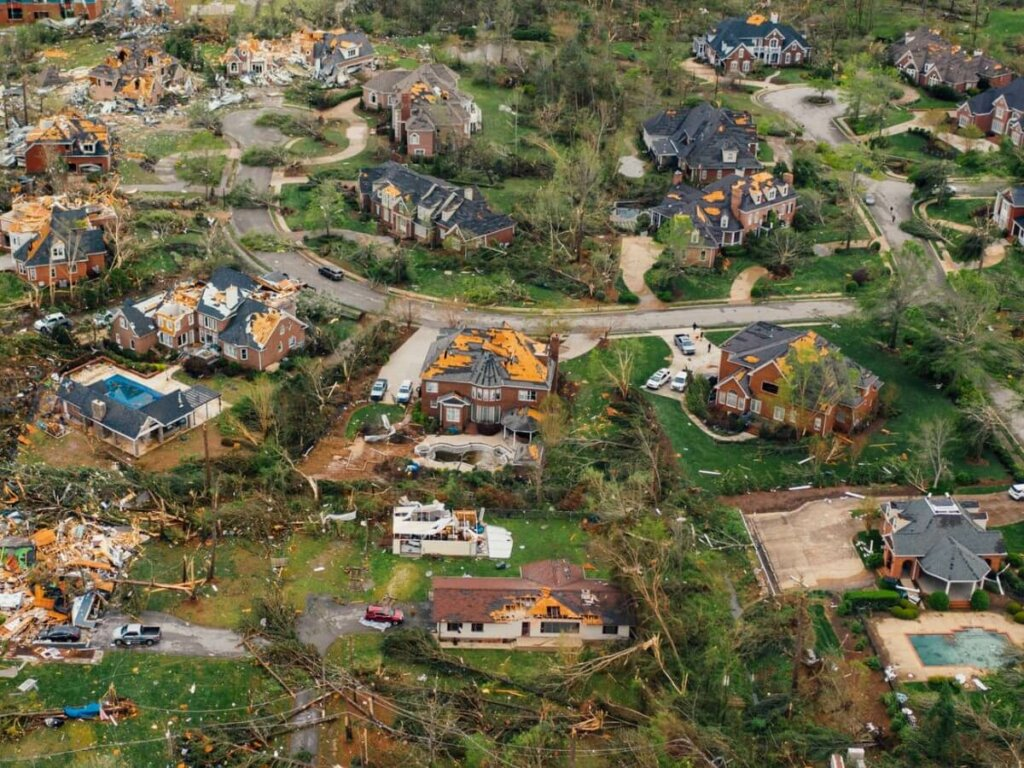 Can I sell my home damaged by a tornado