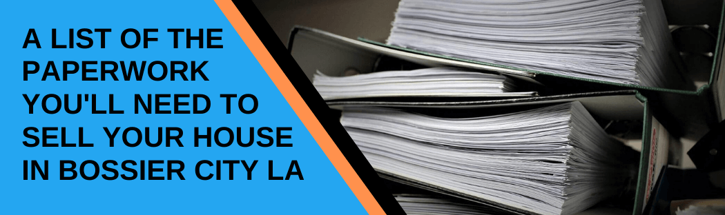 cash for homes in Bossier City LA