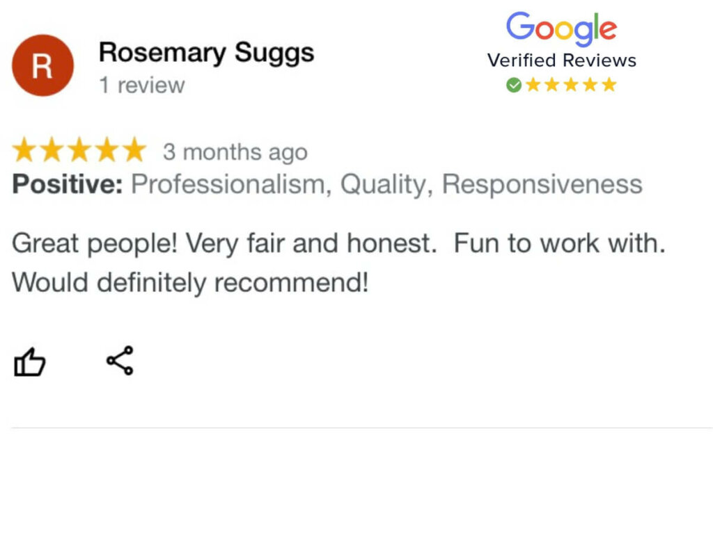 Companies that buy houses Google Reviews