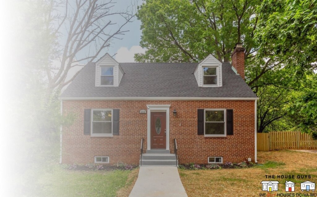we buy houses for cash in Suitland Maryland