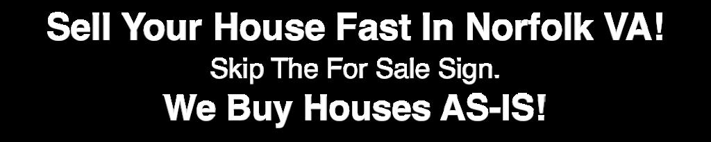 we buy houses Norfolk Virginia