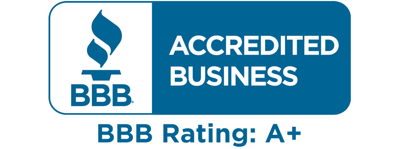 Newbyginnings BBB A+ rating badge
