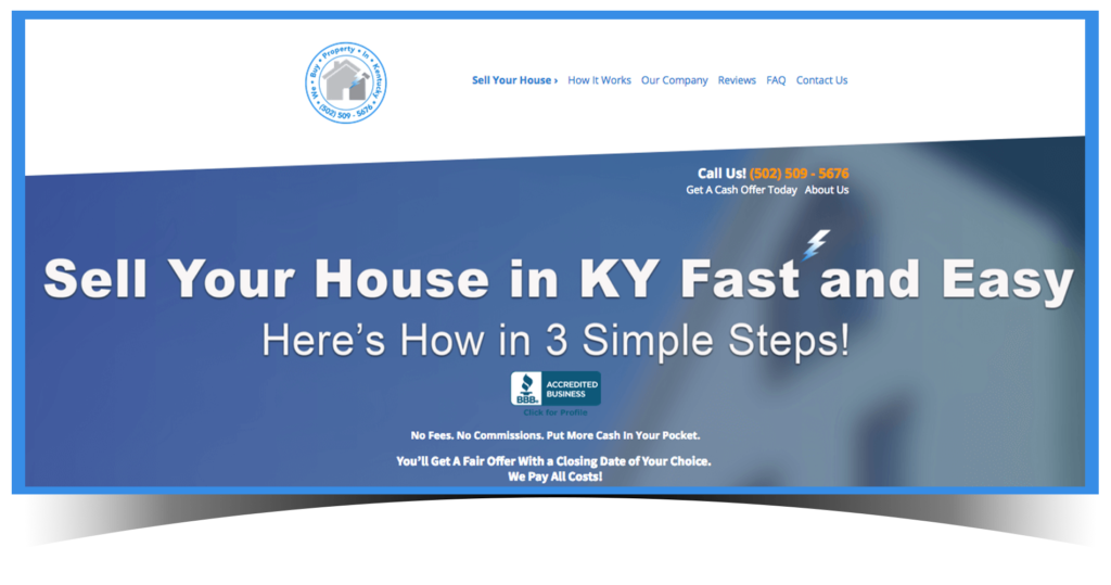 We Buy Houses In Kentucky - Sell House
