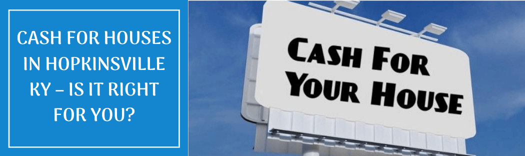 cash for homes in Hopkinsville KY