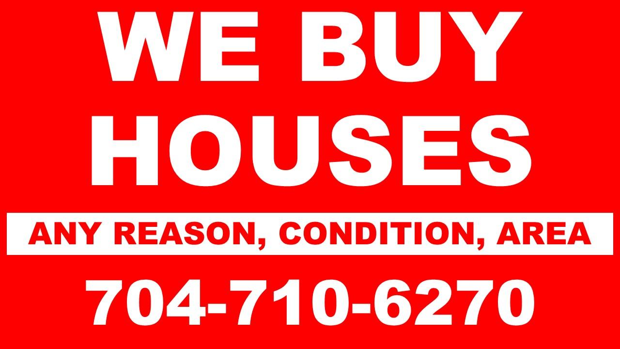 We Buy Houses in Charlotte704-710-6270