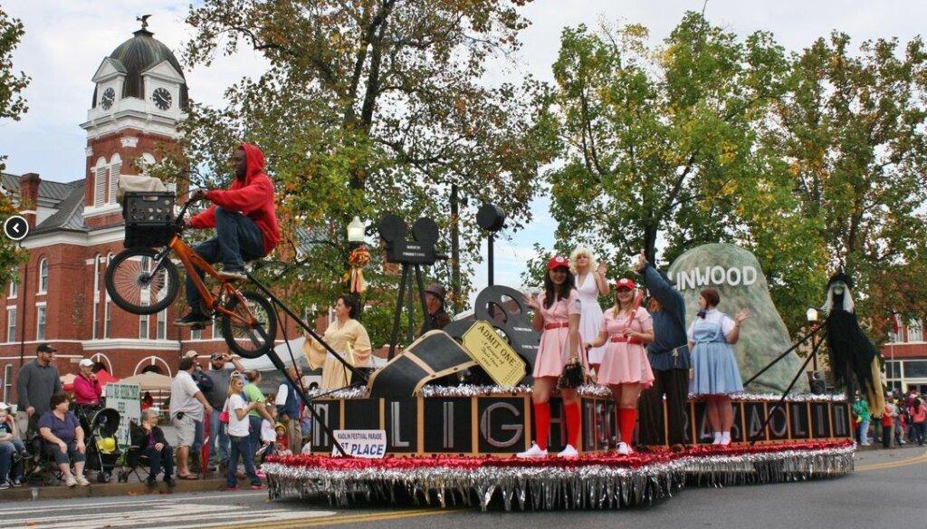 festival in Sandersville, GA